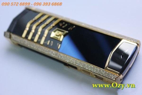 www.123nhanh.com: Vertu S Yellow Gold Full Pave Diamonds