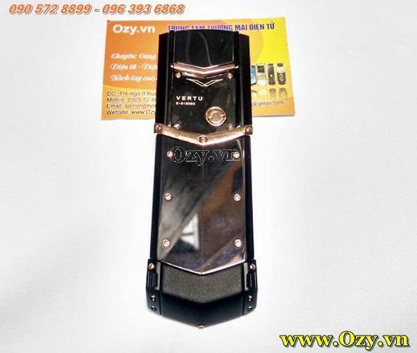 www.123nhanh.com: Vertu Signature S Ultimate black DLC ẩn phím số