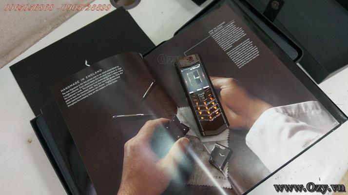 Vertu signature s socola nâu mới