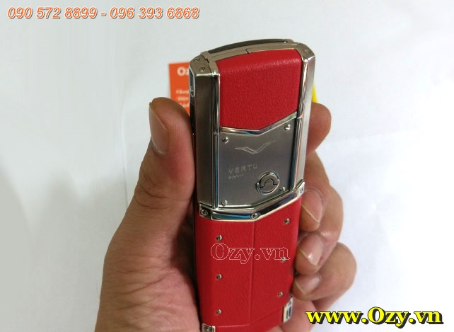 Vertu Signature S Red Leather